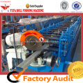 Kualitas Super YF Downspout Warna Steel Sheet Metal Roll Forming Machine